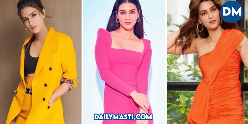 Happy Birthday Kriti Sanon: 6 Times the actress wore outfits that released the dopamine hormone in us