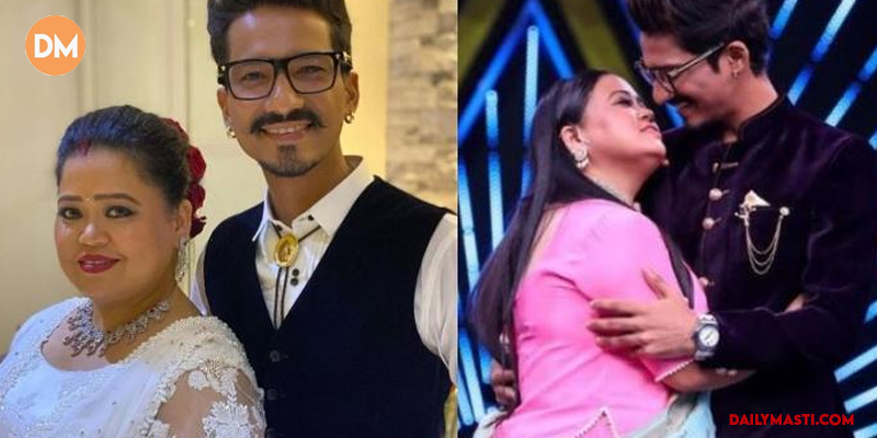 Haarsh Limbachiyaa has a hilarious birthday gift for his wife Bharti Singh; Watch Video