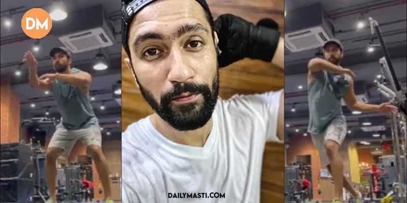 Vicky Kaushal kicks off Saturday with an early workout session, gives us a glimpse of his gym; PHOTO