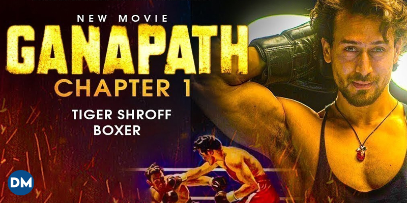 Ganapath Teaser: Tiger Shroff packs a punch and announces his & Kriti Sanon's film's release on Christmas 2022