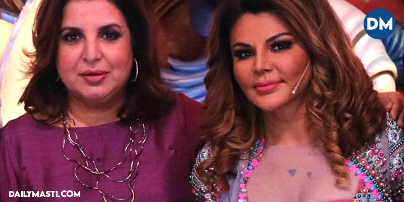 """""""I have given two stars to the industry, one is Deepika Padukone, and the other is Rakhi Sawant,"""" says Farah Khan"""