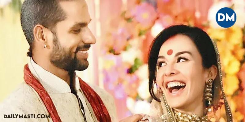 Shikhar Dhawan Separates With Wife Aesha