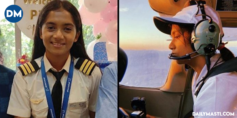 Meet Maitri Patel, India's Youngest Commercial Pilot At The Age Of 19, See Pics
